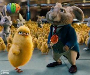 Rompicapo di Il corrente Coniglio Pasquale e Carlos