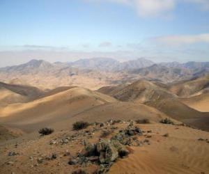 Rompicapo di Il deserto di Atacama in Cile