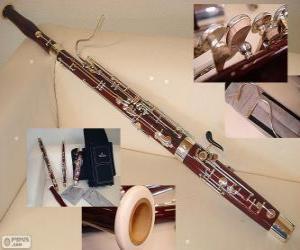 Rompicapo di Il fagotto strumento musicale a fiato ad ancia doppia appartenente al gruppo dei legni, di cui costituisce il basso