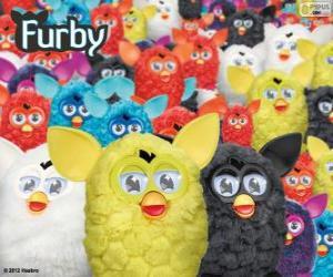Rompicapo di Il Furbys, un giocattolo elettronico