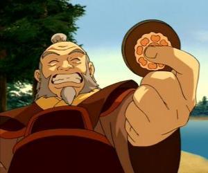 Rompicapo di Il generale a riposo Iroh conosciuto come il drago del West è lo zio e mentore di Zuko