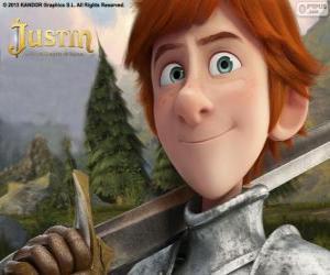 Rompicapo di Il giovane Justin vuole diventare un cavaliere
