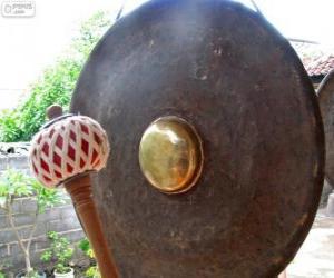 Rompicapo di Il gong, strumento a percussione