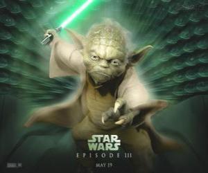 Rompicapo di Il grande maestro Yoda, il maestro Jedi