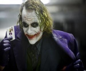 Rompicapo di Il Joker è il più grande nemico di Batman e uno dei cattivi più popolari