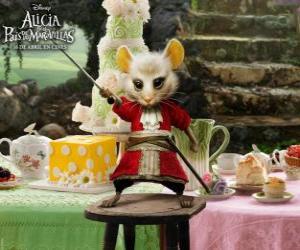 Rompicapo di Il Liron, un mouse indossa calzoni da cavallerizzo.