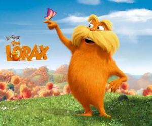 Rompicapo di Il Lorax, il gigante peloso è il guardiano della foresta, che parla con gli alberi