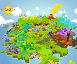 Rompicapo di Il mondo di Moshi Monsters
