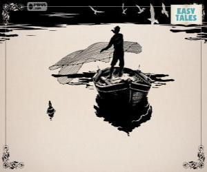 Rompicapo di Il pescatore pesca con la sua vecchia barca