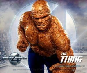 Rompicapo di Il più forte supereroe dei Fantastici Quattro è La Cosa