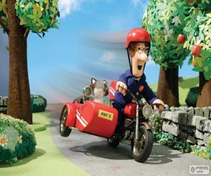 Rompicapo di Il postino Pat con il suo motociclo
