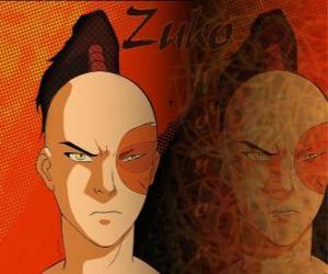 Rompicapo di Il principe Zuko è esiliato della Nazione del Fuoco e vuole catturare l'Avatar Aang per ristabilire il suo onore
