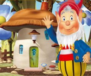 Rompicapo di Il saggio Barbaneve, un folletto barbuto che vive in una casa fungo