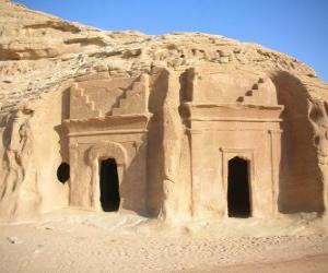 Rompicapo di Il sito archeologico di Al-Hijr, Madain Salih, Arabia Saudita