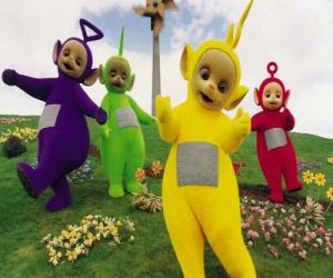Rompicapo di Il Teletubbies: Laa-Laa, Tinky Winky, Po e Dipsy