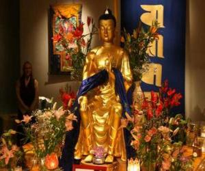 Rompicapo di Immagine del Buddha