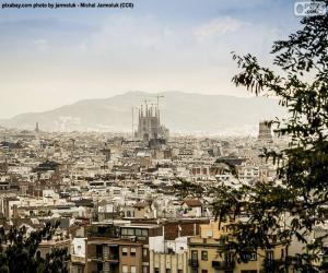 Rompicapo di Immagine di Barcellona