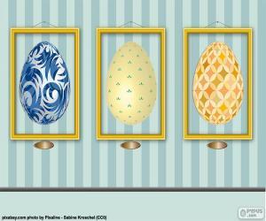 Rompicapo di Immagini di uova di Pasqua