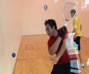 Rompicapo di Incontro di racquetball