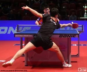 Rompicapo di Incontro di tennis da tavolo o ping pong