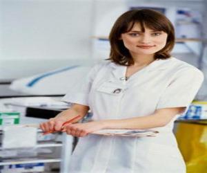 Rompicapo di Infermiere di lavoro in ospedale