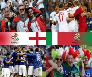 Rompicapo di Inghilterra - Italia, quarti di finale, Euro 2012