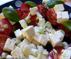 Rompicapo di Insalata di formaggio