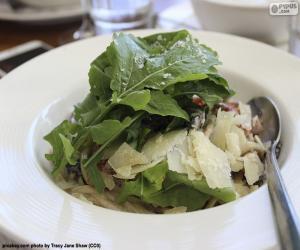 Rompicapo di Insalate di foglie verdi