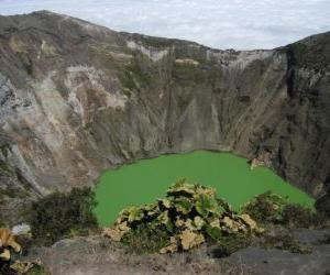 Rompicapo di Irazu Vulcano, Cile