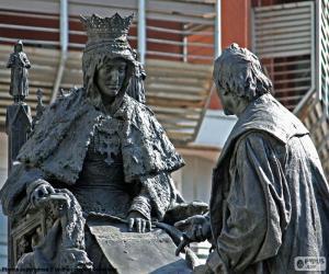 Rompicapo di Isabel la Católica e Colombo