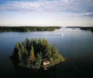Rompicapo di Isola nel Mar Baltico, la Finlandia