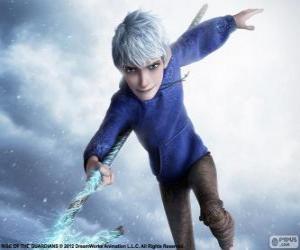 Rompicapo di Jack Frost, è un essere soprannaturale. Carattere da Le 5 leggende