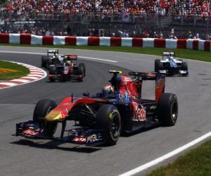 Rompicapo di Jaime Alguersuari - Toro Rosso - Montreal 2010