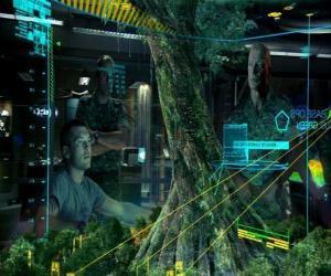 Rompicapo di Jake Sully e il colonnello Quaritch di studiare l'albero madre