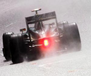 Rompicapo di Jarno Trulli - Lotus - Spa-Francorchamps 2010