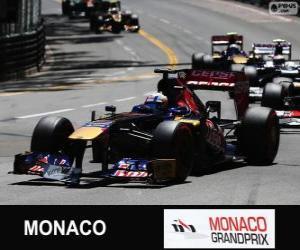 Rompicapo di Jean-Eric Vergne - Toro Rosso - Monte Carlo 2013