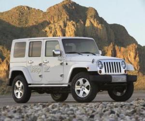 Rompicapo di Jeep EV Concept (2008)