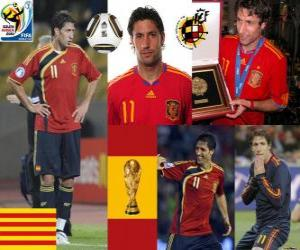 Rompicapo di Joan Capdevila (Il incombustibile) difesa team spagnolo