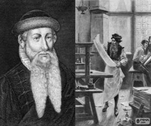 Rompicapo di Johannes Gutenberg (1398-1468), inventore della stampa moderna