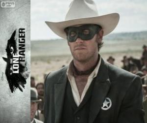 Rompicapo di John Reid (Armie Hammer) nel film Lone Ranger