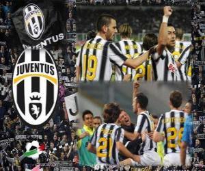 Rompicapo di Joventus, campione italiano di calcio Serie A 2.011-12