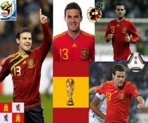 Rompicapo di Juan Mata (The Magic caviglia), attaccante Squadra Nazionale Spagnola