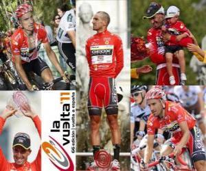 Rompicapo di Juanjo Cobo (GEOX), campione del Giro di Spagna 2011