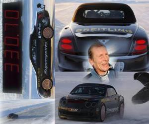 Rompicapo di Juha Kankkunen, record di velocità su ghiaccio