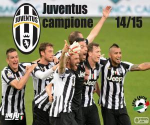 Rompicapo di Juventus campione 2014-20015