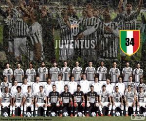 Rompicapo di Juventus campione 2015-20016