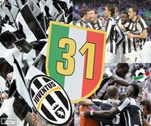 Rompicapo di Juventus Torino, Campione  Serie A Lega Calcio 2012-2013, campionato italiano di calcio
