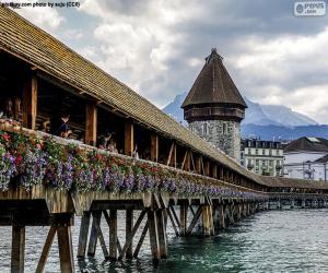 Rompicapo di Kapellbrücke, Svizzera
