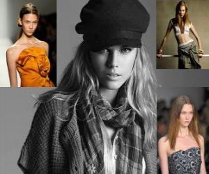 Rompicapo di Karlie Kloss è un modello americano e la ballerina