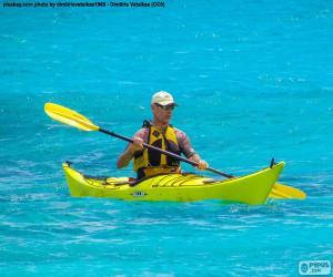 Rompicapo di Kayak da mare